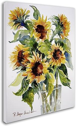 Sunflowers Artwork Canvas Wall Art