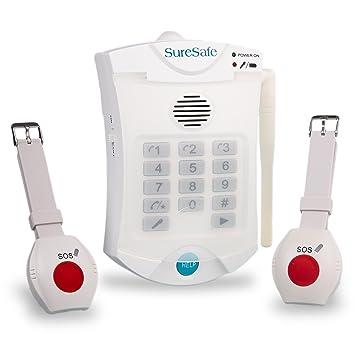 Suresafe personal alarms 2 x wristwatch medical alarmalert for suresafe personal alarms 2 x wristwatch medical alarmalert for seniors elderly mozeypictures Images