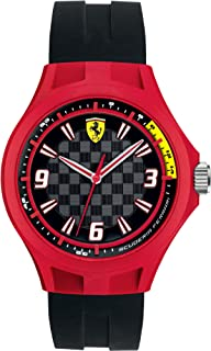 Ferrari Scuderia Pit Crew Silicone Mens Watch 0830284