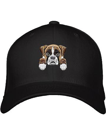 01e4ae73adbb6 Boxer Dog Hat Cute Puppy Adjustable Cap