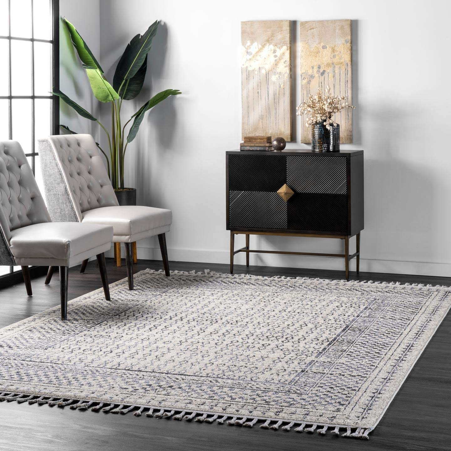 nuLOOM Claudia Diamond Area Rug