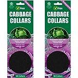 60 x Vitax Cabbage Collars Deters Root Flies & Repels Slugs Snails Weeds