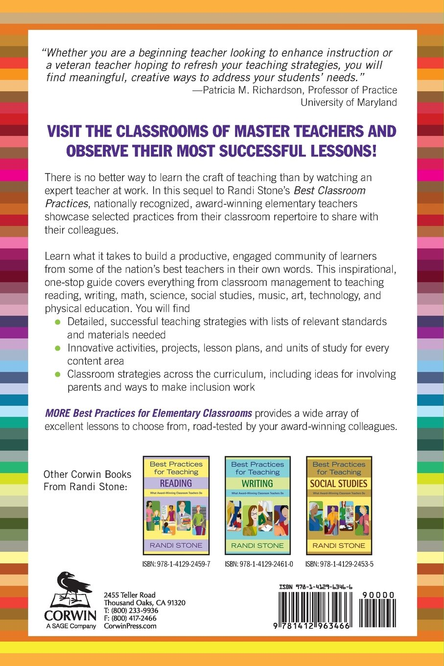 Buy More Best Practices For Elementary Classrooms What Award