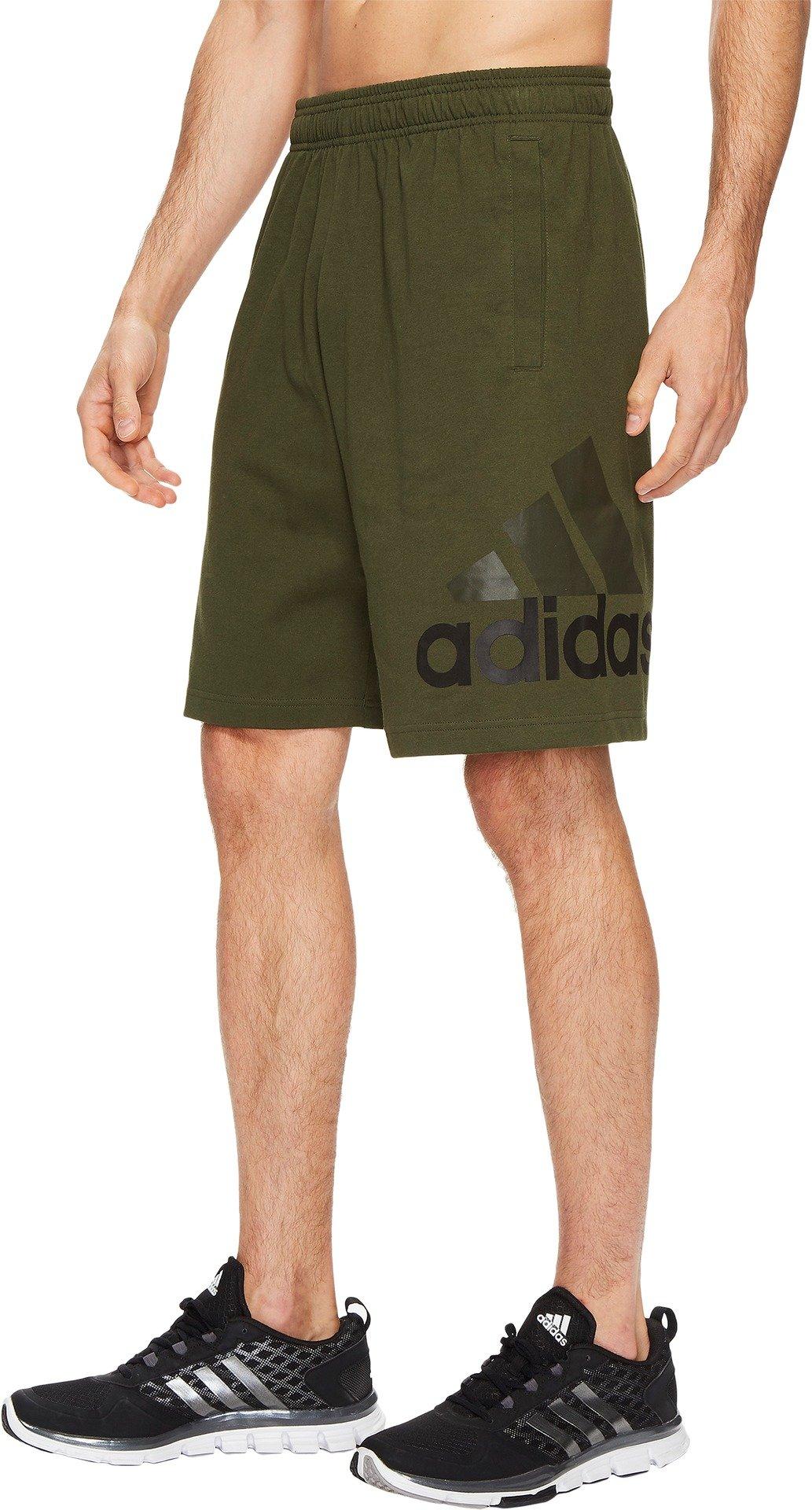 adidas Men's Athletics Jersey Shorts, Night