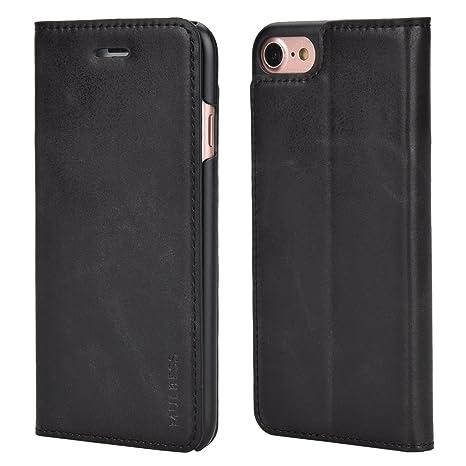 custodia iphone 7 portafoglio pelle