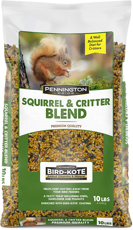 Pennington Pride Squirrel & Critter Blend Wild Bird Seed, 10 lb