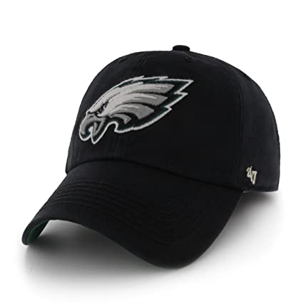 9fd853ba78e Amazon.com   NFL Philadelphia Eagles  47 Brand Franchise Fitted Hat ...