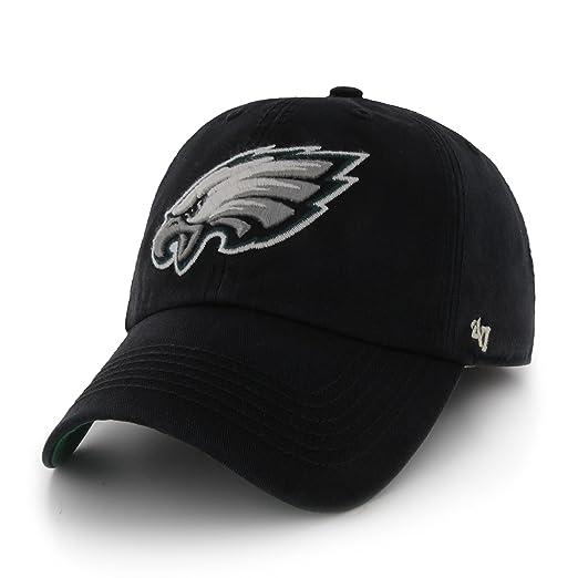 93ea584f Amazon.com : NFL Philadelphia Eagles '47 Brand Franchise Fitted Hat ...