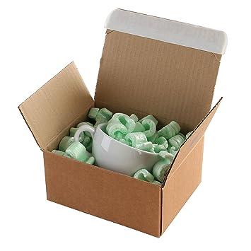 Purely Packaging PEB10 - Cajas de cartón con precinto de cierre (160 x 130 x 70 mm, 20 unidades), color marrón: Amazon.es: Oficina y papelería