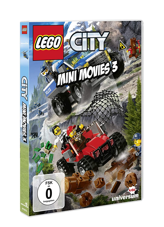Amazoncom Lego City Mini Movies Dvd 3 Movies Tv