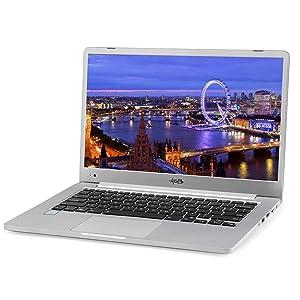 """AGB Orion RA-0301 14"""" Laptop (7th Generation Intel Core i7-7500U / 16GB RAM / 1TB SSD / 1TB HDD / Intel Integrated 620 DDR 4 / Win 10 Pro / Aluminium Body"""
