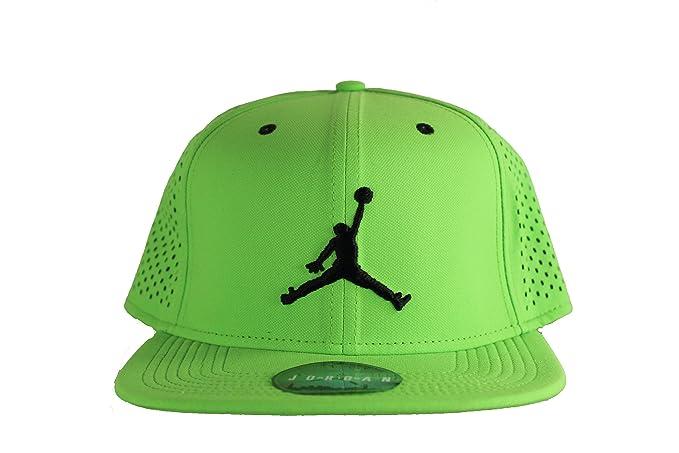 competitive price 999b0 8e4ef Gorra Nike - Jordan Jumpman Performance Trucker Verde Pulse/Negro OSFA:  Amazon.co.uk: Clothing