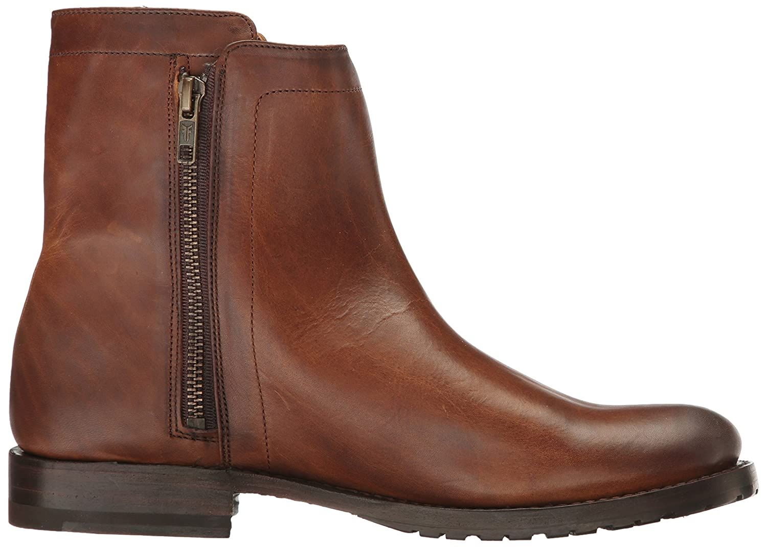 FRYE Women's Natalie Double Zip Boot Pressed B01MT5IP66 11 B(M) US|Whiskey Pressed Boot Full Grain 428efa