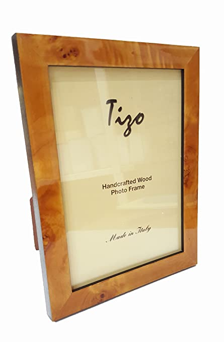 Amazoncom Tizo 5 X 7 Light Brown Wooden Frame Made In Italy