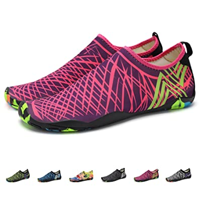 Women's Water Sports Shoes Barefoot Quick-Dry Multifunctional Sneakers With Drainage Holes