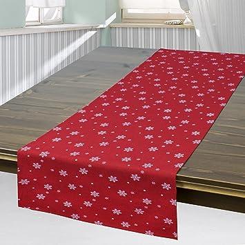 Moderne Tischdecke tischläufer rot 40x140 cm moderne tischdecke zu weihnachten