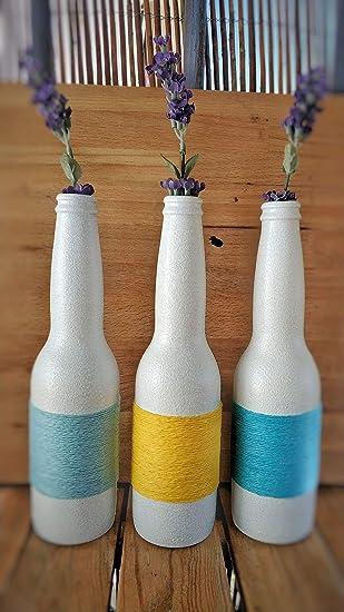 Botellas con suerte - Pack 3 Botellitas Cerveza Corona Decoración ...