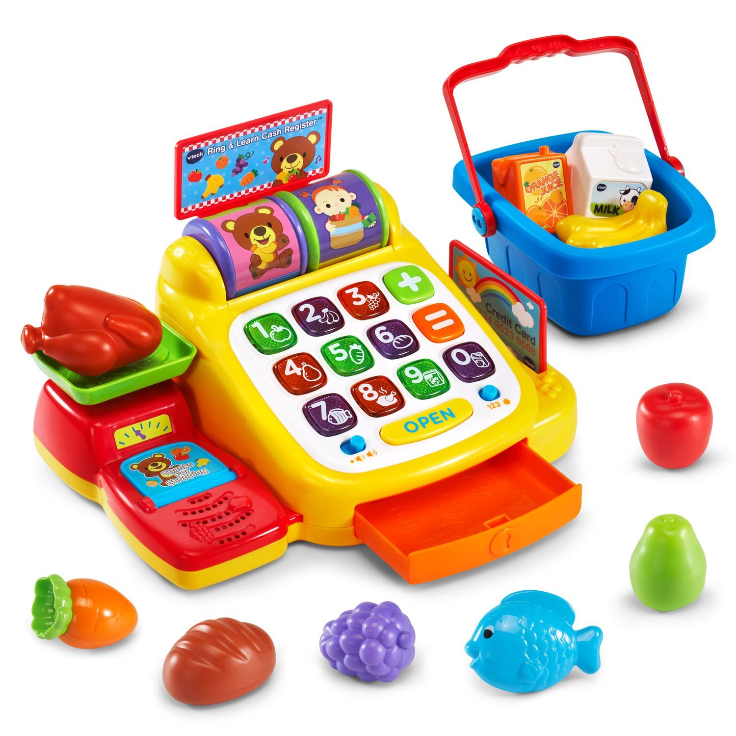 Amazon VTech Ring and Learn Cash Register Toys & Games