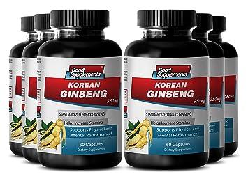 Korean red ginseng sexual benefits