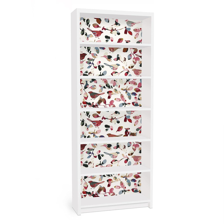 Apalis Pellicola Adesiva per mobili Ikea - Billy Bookshelf - Look Closer, Größe:2 Mal 94cm x 76cm 90749