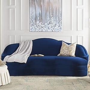 Jennifer Taylor Home Caproia Sofas, Navy Blue