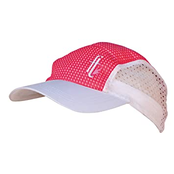 chilly bean cooling hat pink white hot suede baseball cap leather polo
