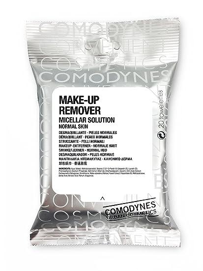 Comodynes Make-Up Remover Normak Skin Toallita Desmaquillante - 20 Unidades | Piel normal