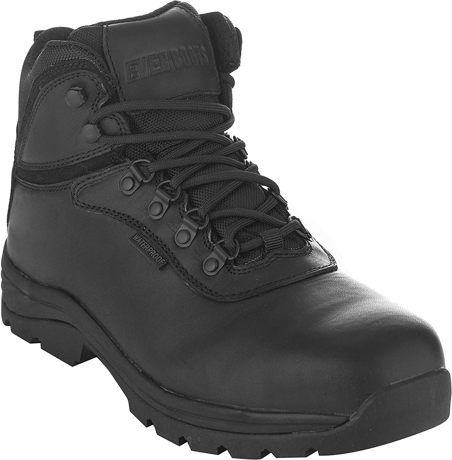 EVER BOOTS Men's Steel Toe Waterproof Industrial Work Boot