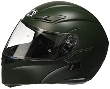 AGV Casco Moto Compact ST E2205 Solid plk, Matt Military Green, ...