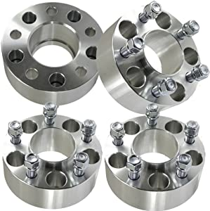 """(4) 50mm (2"""") 5x4.5 Hubcentric Wheel Spacers Fits Dodge Charger Challenger Magnum Chrysler 300"""