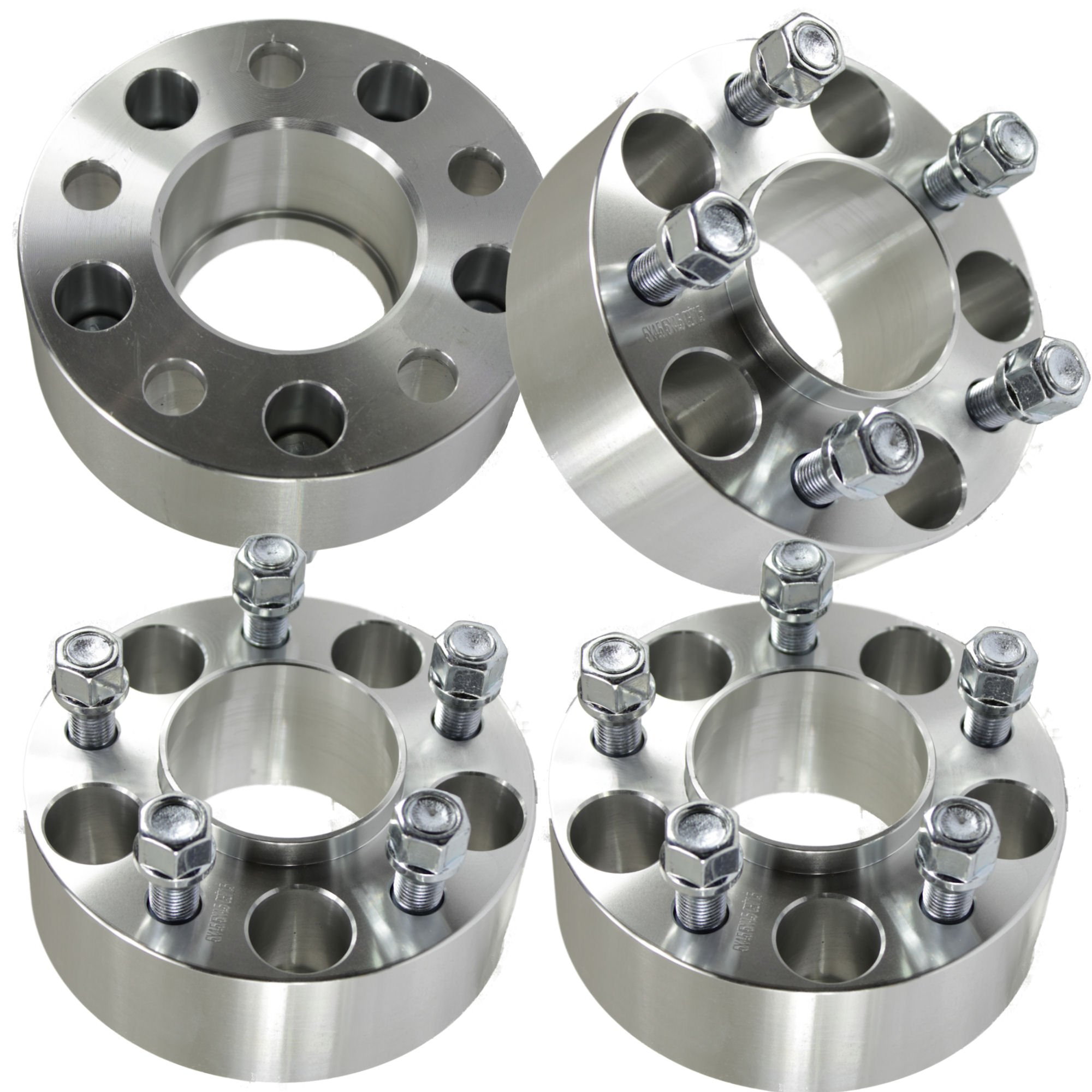 (4) Dodge 50mm (2'') 5x4.5 Hubcentric Wheel Spacers | Charger Challenger Magnum Chrysler 300 by Titan Wheel Accessories (Image #1)