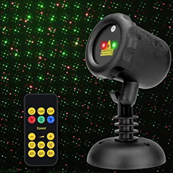 amazon com ledgoo waterproof laser disco light with rf remote
