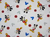 Mickey Mouse and Roadster Racers 60% Cotton