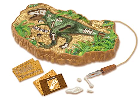 amazon com uncle milton t rexcavator dinosaur excavation game toys