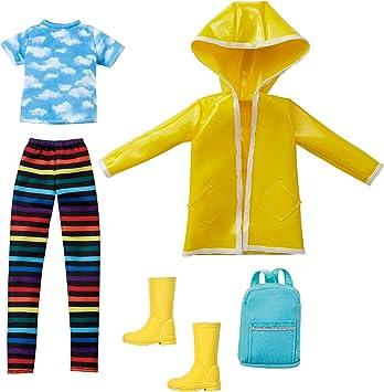 Amazon.es: Creatable World- Pack de Moda, Ropa para Muñeco Unisex Dia de Lluvia (Mattel GKV37), color/modelo surtido: Juguetes y juegos