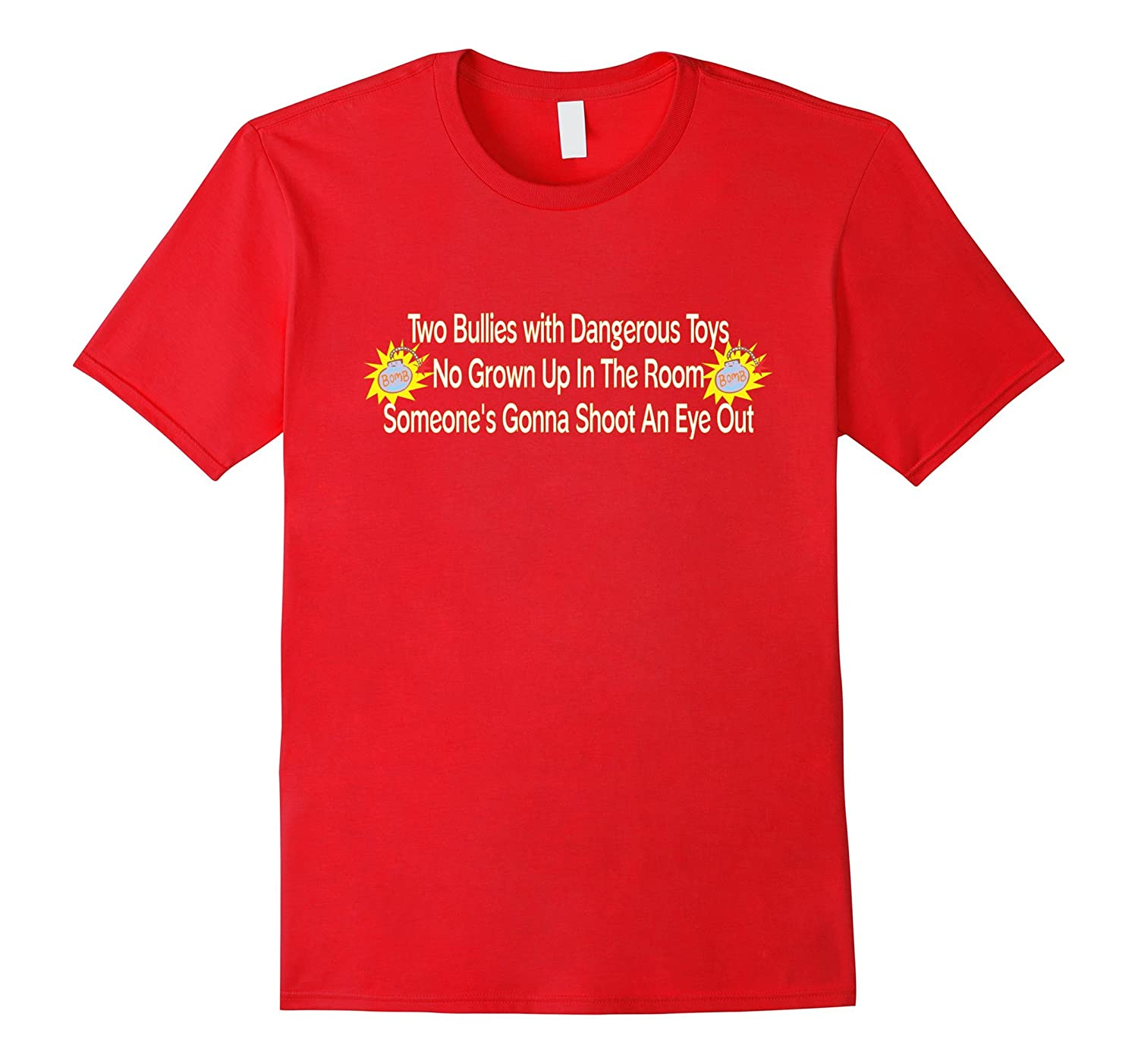 2 Bullies With Dangerous Toys T-Shirt-BN