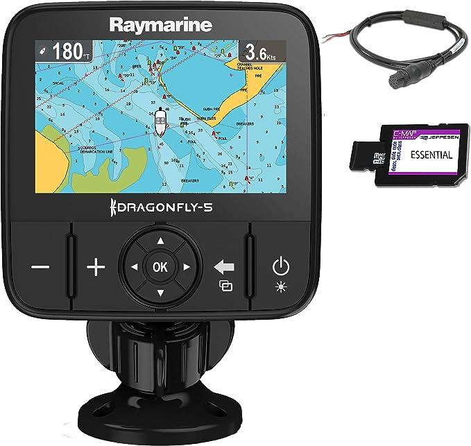Raymarine DragonFly 5M-CEUR - Sonda GPS, pantalla 5