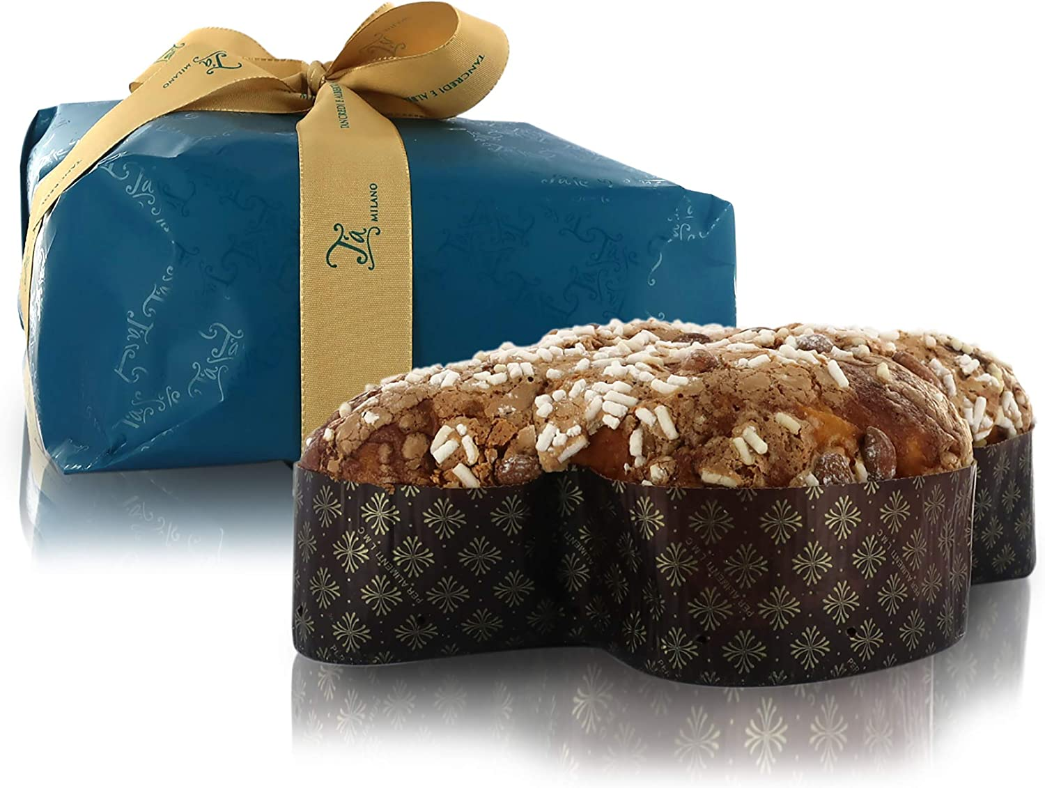 Classic Colomba Cake, Traditional Italian Easter Cake with Almond-Flavoured Frosting, Baked in Italy, 1 Kg / 35.27oz / 2.2lb