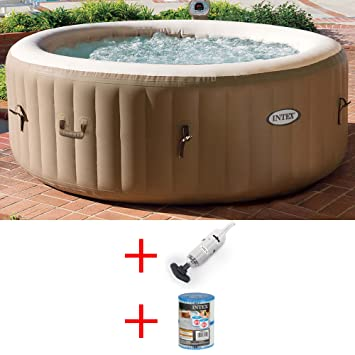 OFERTA DE HIDROMASAJE INTEX PURE SPA BUBBLE Ø216XH71CM CARTUCHO DE RECAMBIO PARA MOPA: Amazon.es: Jardín
