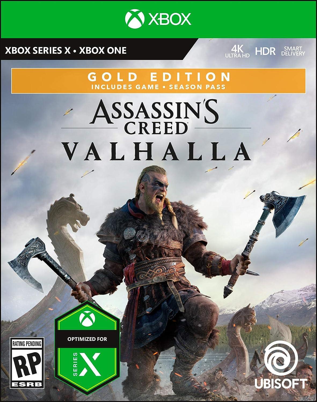 Amazon Com Assassin S Creed Valhalla Gold Pre Purchase Xbox