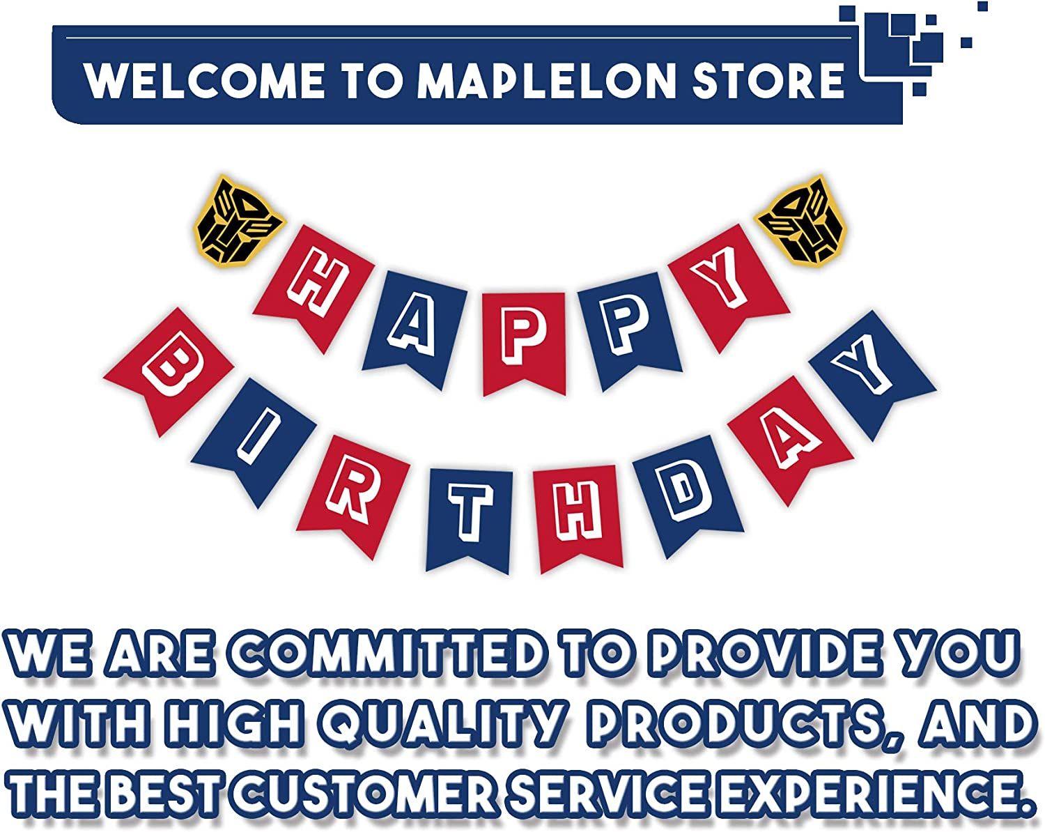 Maplelon Train Happy Birthday Banner Chugga Chugga Two Two Party Train Theme 2nd Bady Bunting Sign