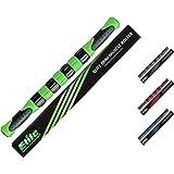 Elite Sportz bastonedimassaggio roller - rullo di massaggio per ottenere sollievo immediato da crampi, tenuta e dolore nelle gambe dopo l'esercizio. (verde)