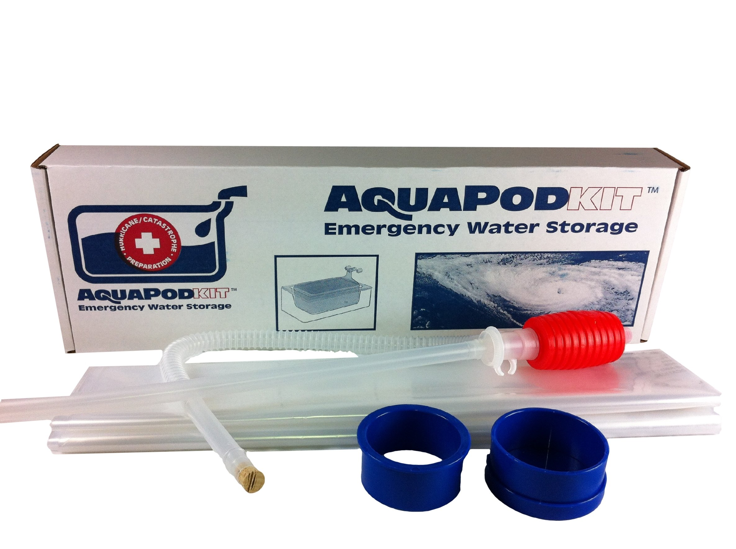 Emergency Drinking Water Storage by AquaPodKit - Made in America (65 Gallons) by AquaPodKit