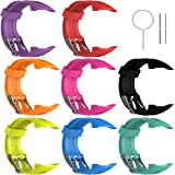 """Replacement Band for Garmin Forerunner 10/15 For Women/Man - TenYun Silicone Wristband Strap/Bands for Garmin Forerunner 10/Garmin Forerunner 15(Small-Size(0.81"""" x 0.77"""") Large-Size 0.98"""" x 0.94"""")"""