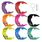 "Amazon Price History for:Replacement Band for Garmin Forerunner 10/15 For Women/Man - TenYun Silicone Wristband Strap/Bands for Garmin Forerunner 10/Garmin Forerunner 15 (Small Size (0.81"" x 0.77"")Large Size (0.98"" x 0.94""))"