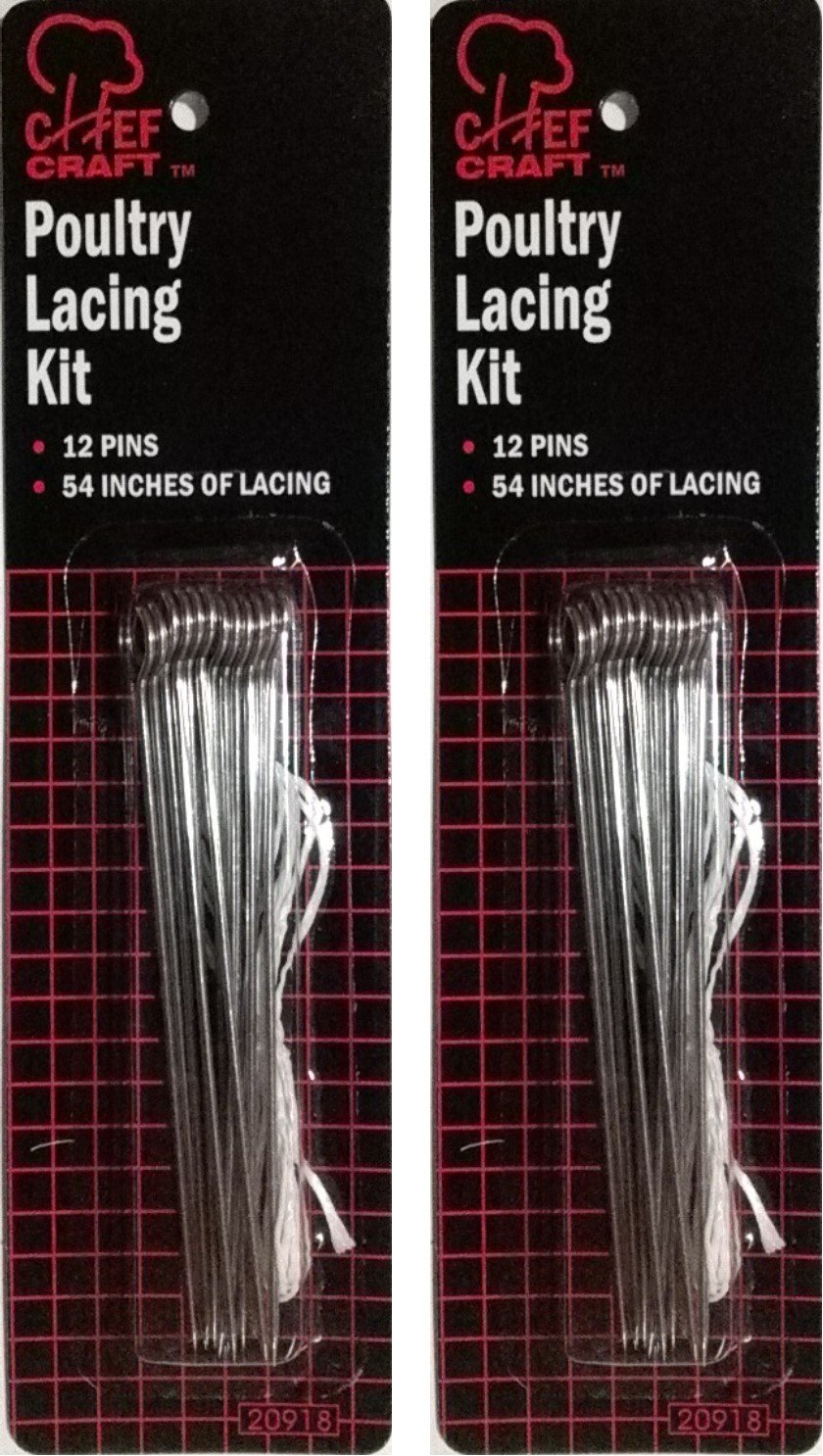 Chef Craft Poultry Lacing Kit (2 Packs) 20918