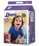 Libero Open Large Size Diaper (54 Count)