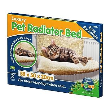 Saving World Gato Radiador Cama cálido Mascotas Cachorro de Cesta de Forro Polar Camas Cuna Animales Hamaca Cachorro Perro: Amazon.es: Productos para ...