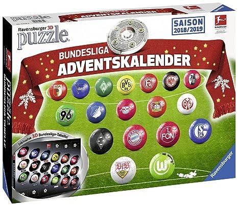 Calendario Avvento Adulti.Ravensburger 11679 Puzzle Per Adulti Con Calendario Dell