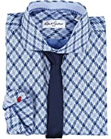 Robert Graham Mens Diamond Dress Shirt